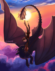How To Train Your Dragon - Soul of a Dragon by simrell