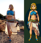 Cosplay - Gerudo Vai Zelda 1
