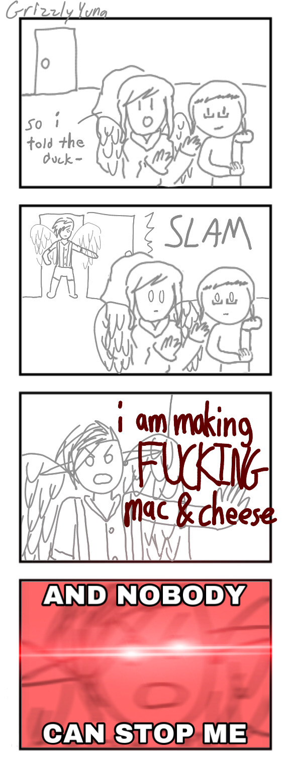 i am making FUCKING MAC AND CHEESE | BirdHaven Ver
