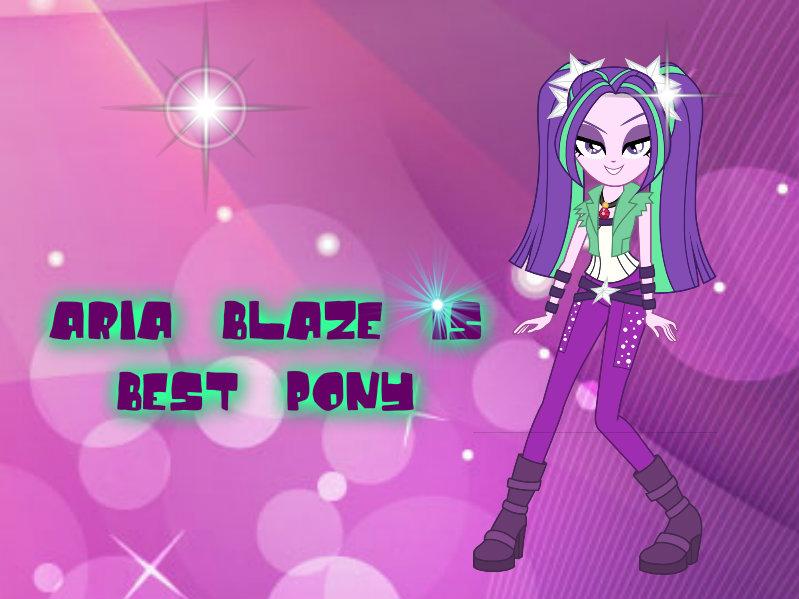 Aria Blaze by Hayley1432 on DeviantArt