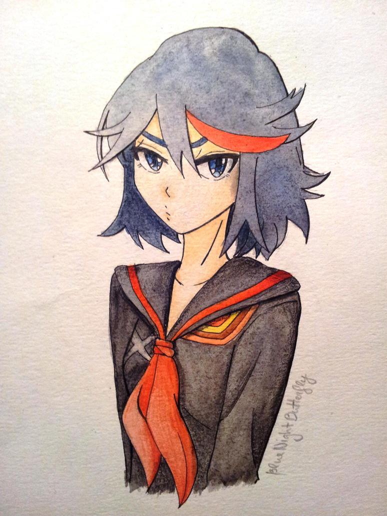 Matoi Ryuko by BlueNightButterfly