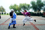 Cosplaying as Gintoki and Fighting Kenshin