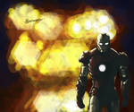 Iron Man Doesn't Look at Explosions