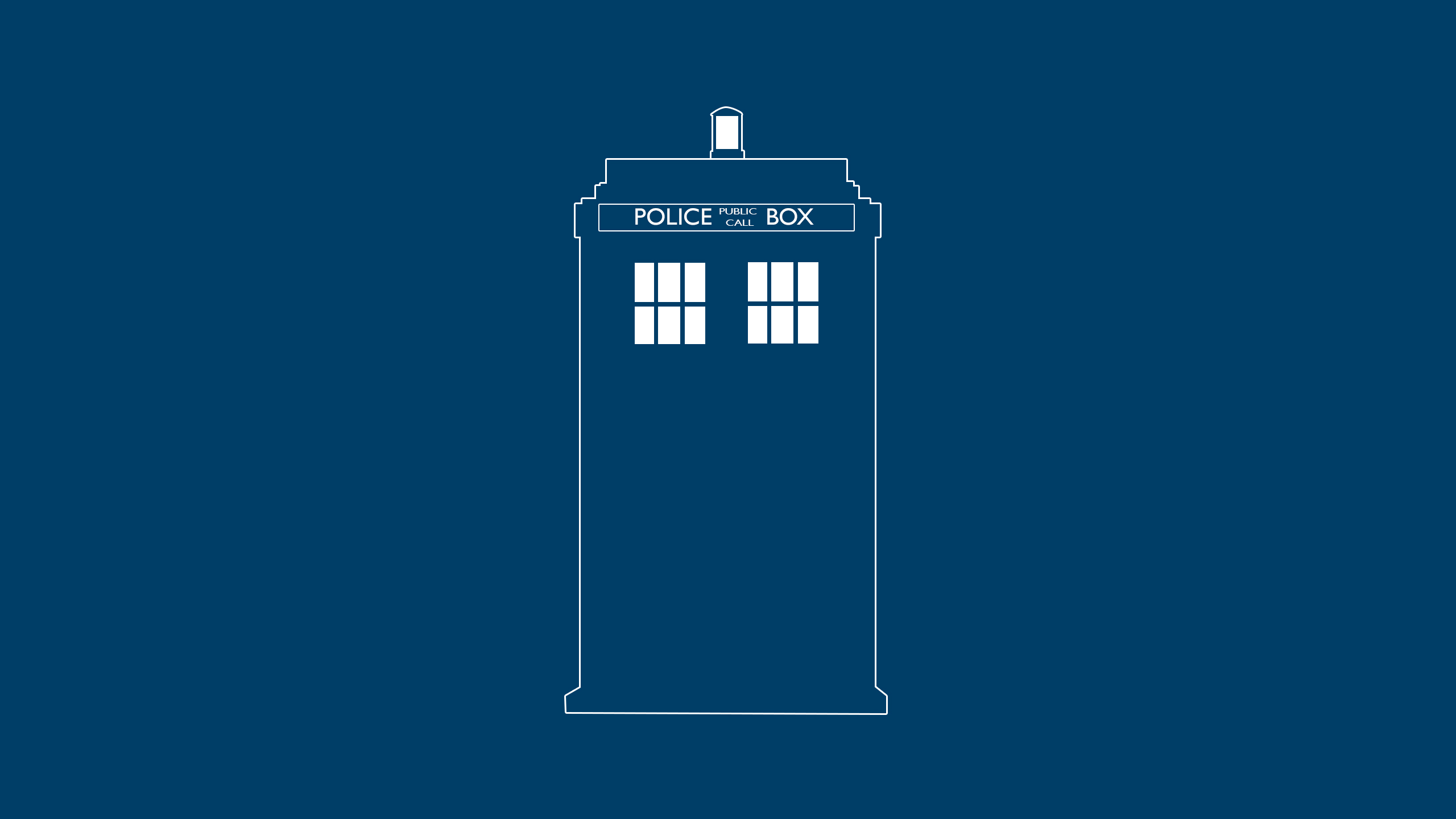 Tardis wallpaper by nexxtcze on deviantart for Minimal art reddit