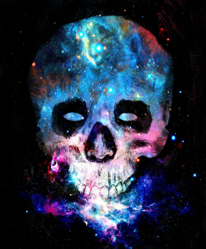 Skull Samsung Galaxy Wallpaper: Galaxy Skull 2 By AdrianBukowski On DeviantArt