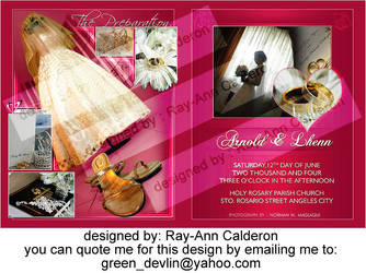 wedding story layout pink by devlin008