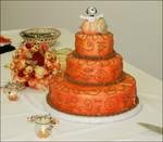 Great Pumpkin Wedding Cake