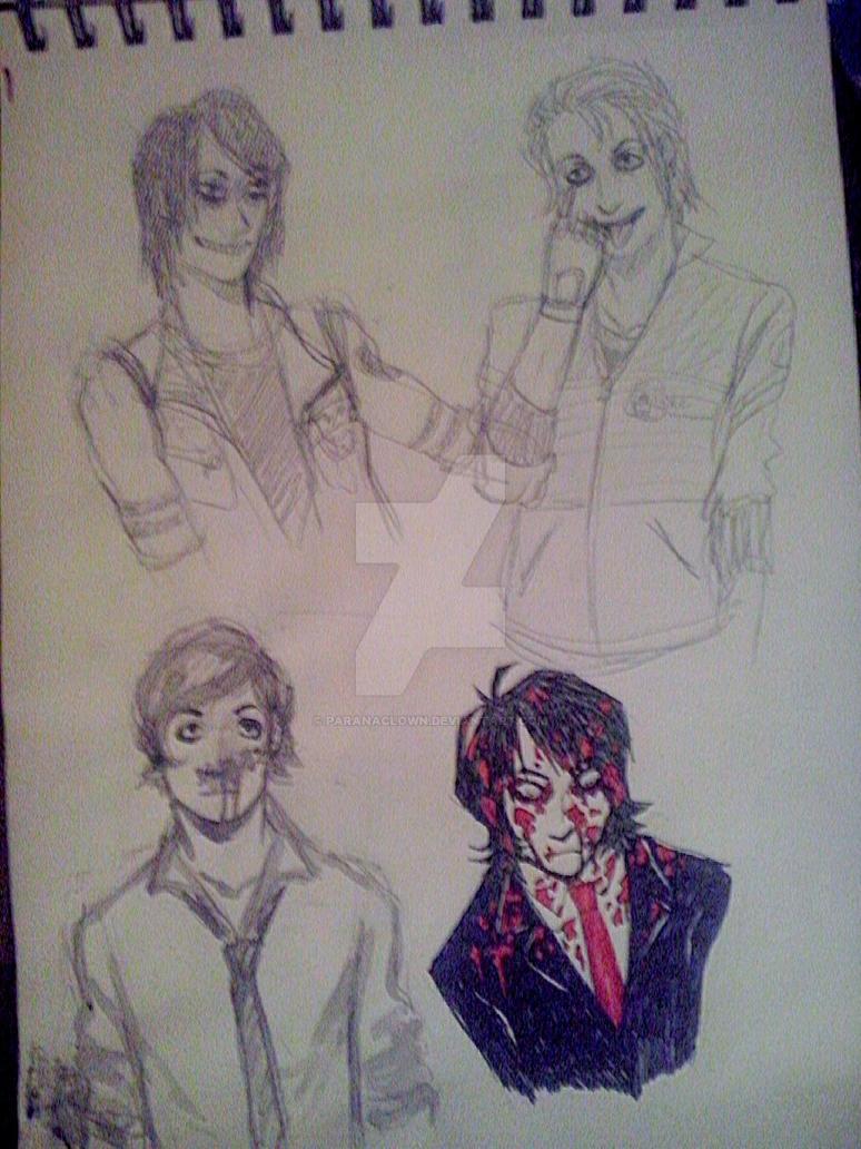 sketchbook by Paranaclown