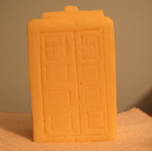 Cheese Tardis by DragonHaven42