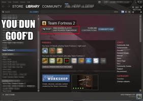 Steam, you dun goof'd by AkiraKyoo