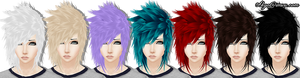 IMVU - Hair set texture.