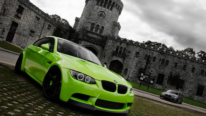 BMW M3 Green Germany Cars Wallpapers (3) By UserNet ...