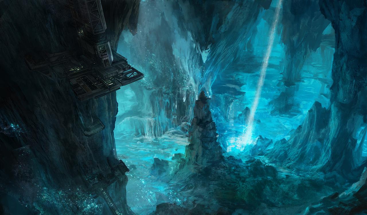 Cavern by FranklinChan