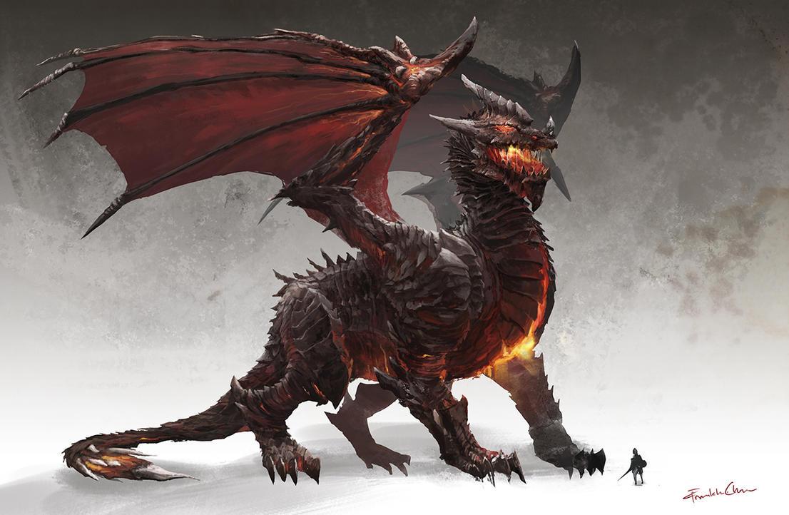 Fire Dragon by FranklinChan