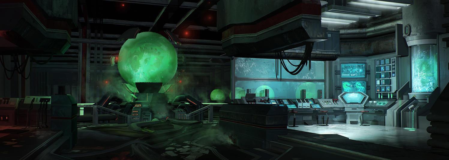Underground Dino Laboratory by FranklinChan
