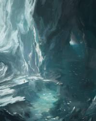 Ice Cavern by FranklinChan