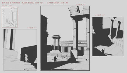 Environment Design Composition Studies