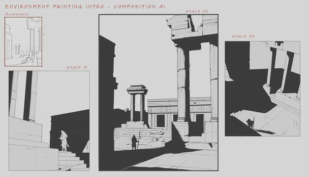 Environment Design Composition Studies