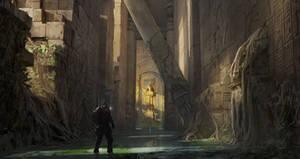 Sunken Egyptian Temple