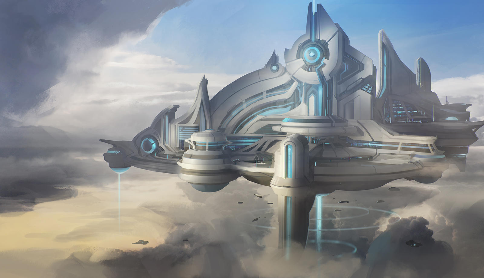 Psionic Floating City