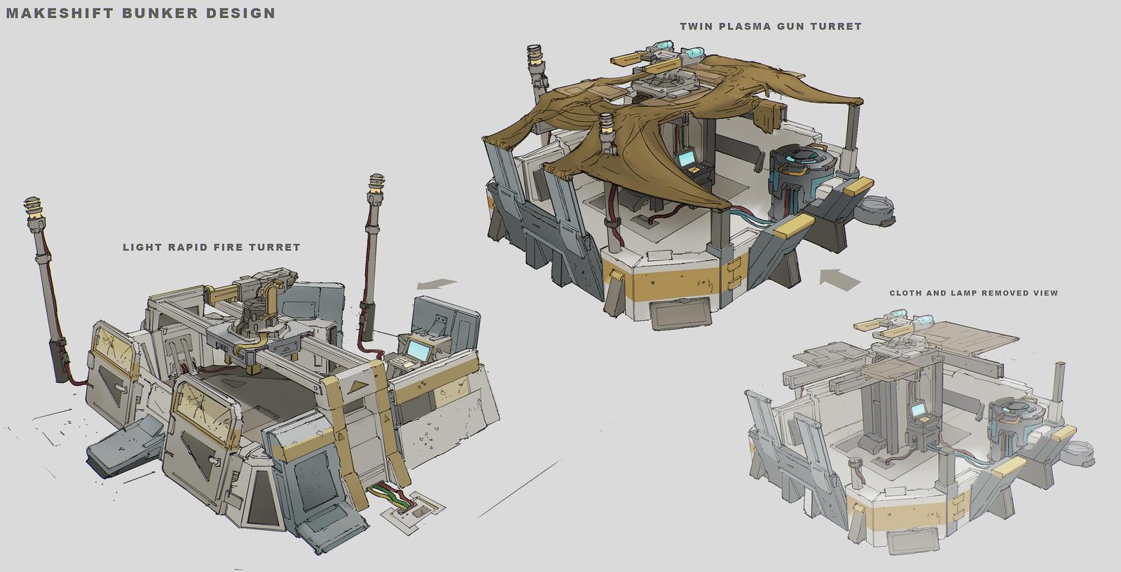 Tuebor Makeshift Bunker Design By FranklinChan On DeviantArt