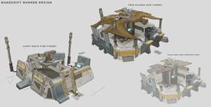 Tuebor Makeshift Bunker Design