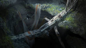 Crashed Space Station by FranklinChan