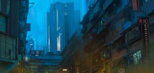 ArtStation Beyond Human Environment Design Concept by FranklinChan
