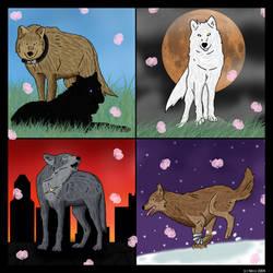 +Wolf's.Rain+ by Dragonrain
