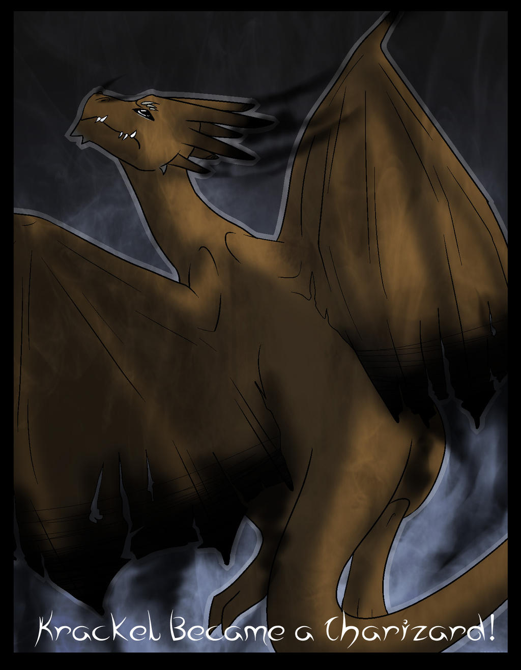 Dat Deviantart Evolution_of_krackel__the_charizard_by_xxaurataurusxx-d7gls2i