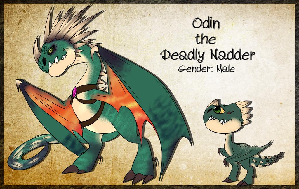 Odin The Deadly Nadder By XXAuraTaurusXx On DeviantArt