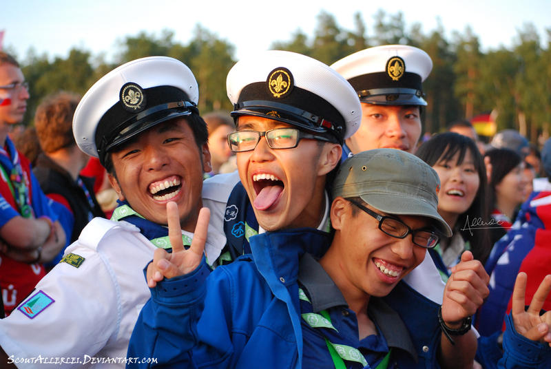 Scouts from Hong Kong