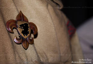 Scout's lily badge