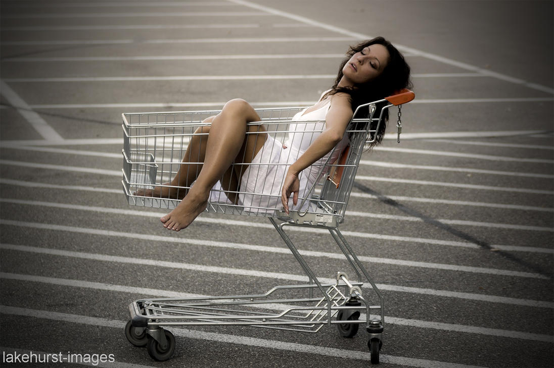 Tired shopping by lakehurst-images