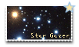 Stamp - Star Gazer by blackwolfwalking