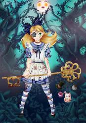 Once Again In Wonderland by rhaelle