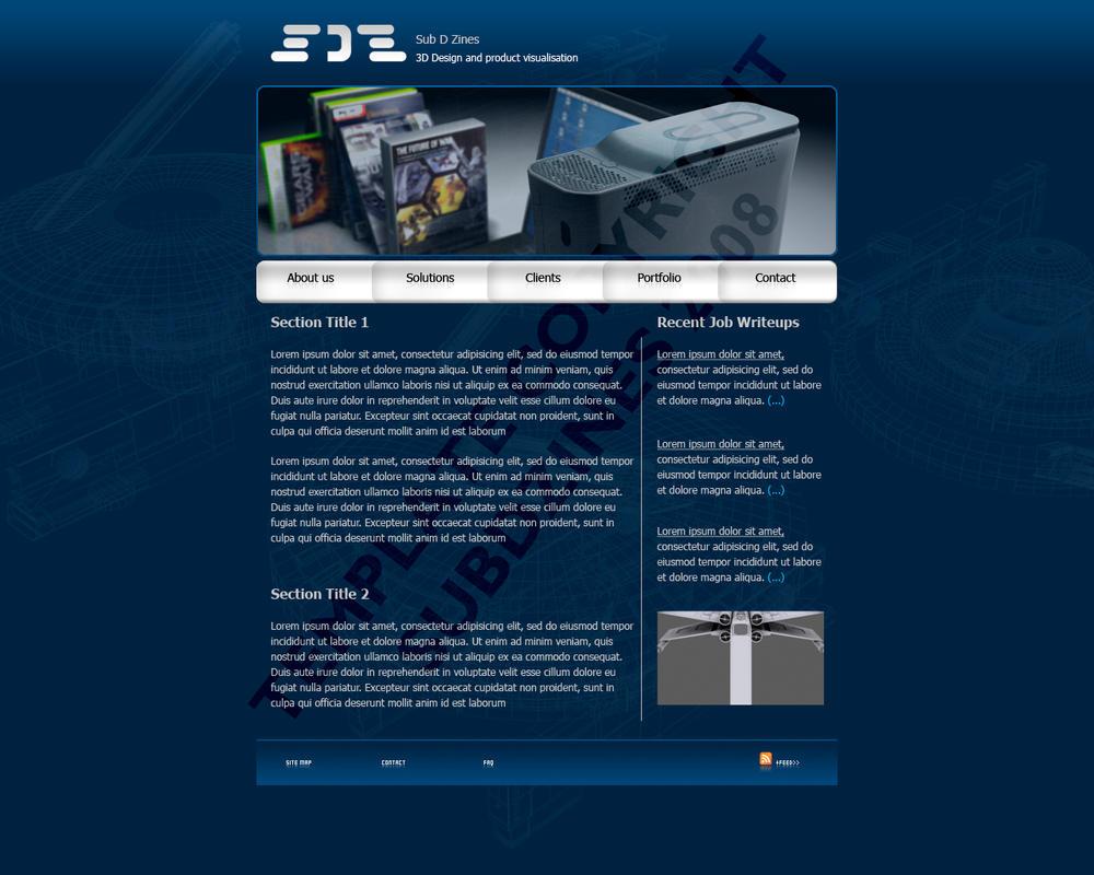 website template design1 by subodai on deviantart. Black Bedroom Furniture Sets. Home Design Ideas