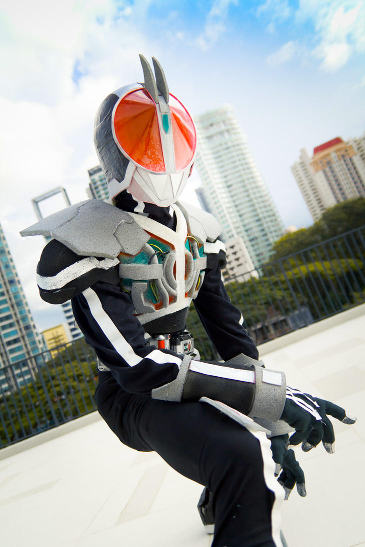 Rider : Faiz Axel Mode by KissingGiraffe