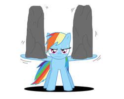 Rainbow Dash training CH6 scene by Archonitianicsmasher