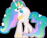 Princess Celestia practice vector