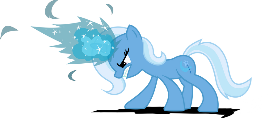 Trixie in training by Archonitianicsmasher