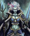 Frost Lich Jaina Proudmoore art - Hearthstone Wow