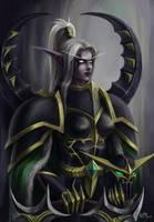 Maiev Shadowsong - World of Warcraft by KiwiStarling
