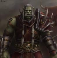 High Overlord Saurfang - World of Warcraft - BfA by KiwiStarling