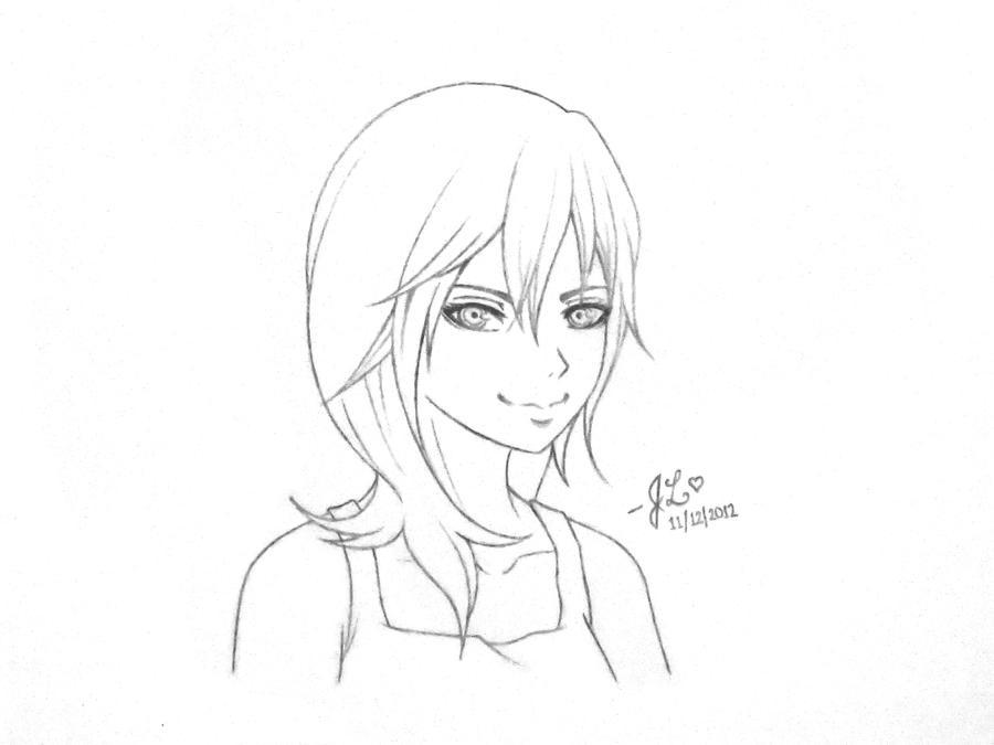 Namine Sketch by imagineJL842