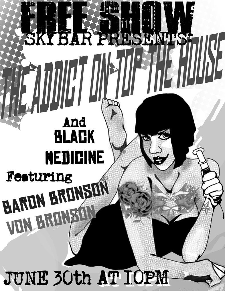 Black Medicine Band flyer by Peter-Pan-Complex on DeviantArt