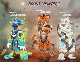 Mecha Bounty Hunter Adoptables [OPENING][3/3]