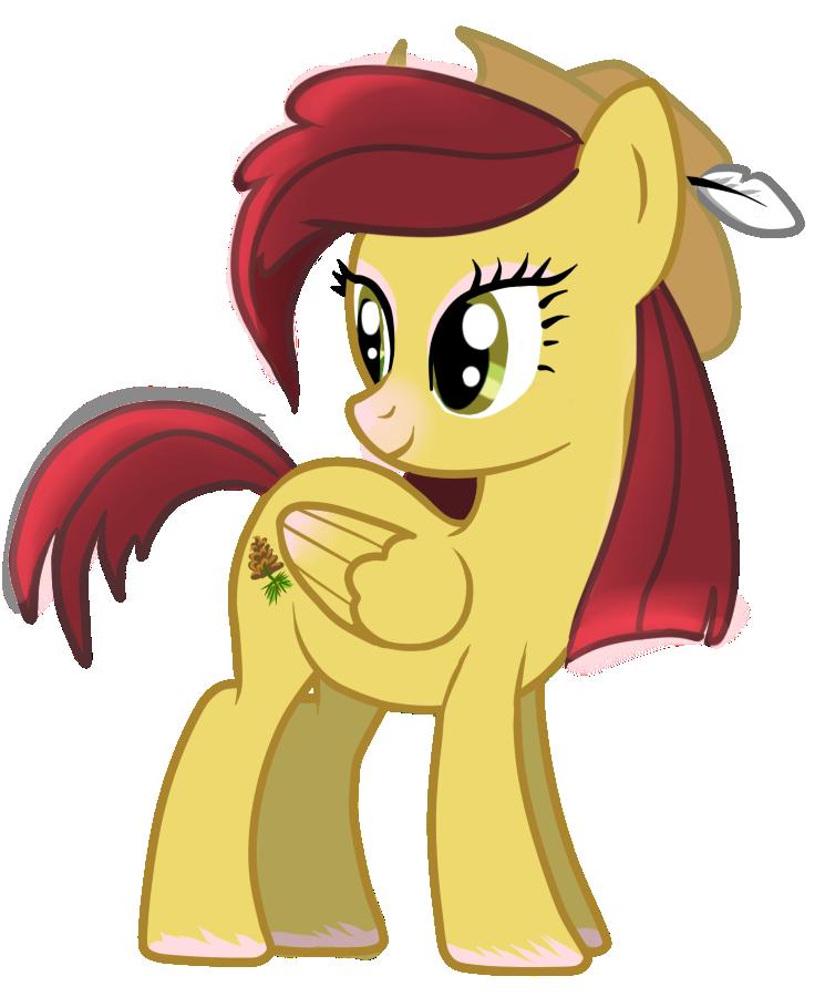 Peppy Pines - Pony OC by pepooni