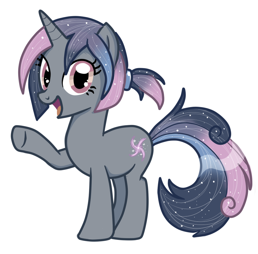 Galaxy Swirl - Pony OC by pepooni