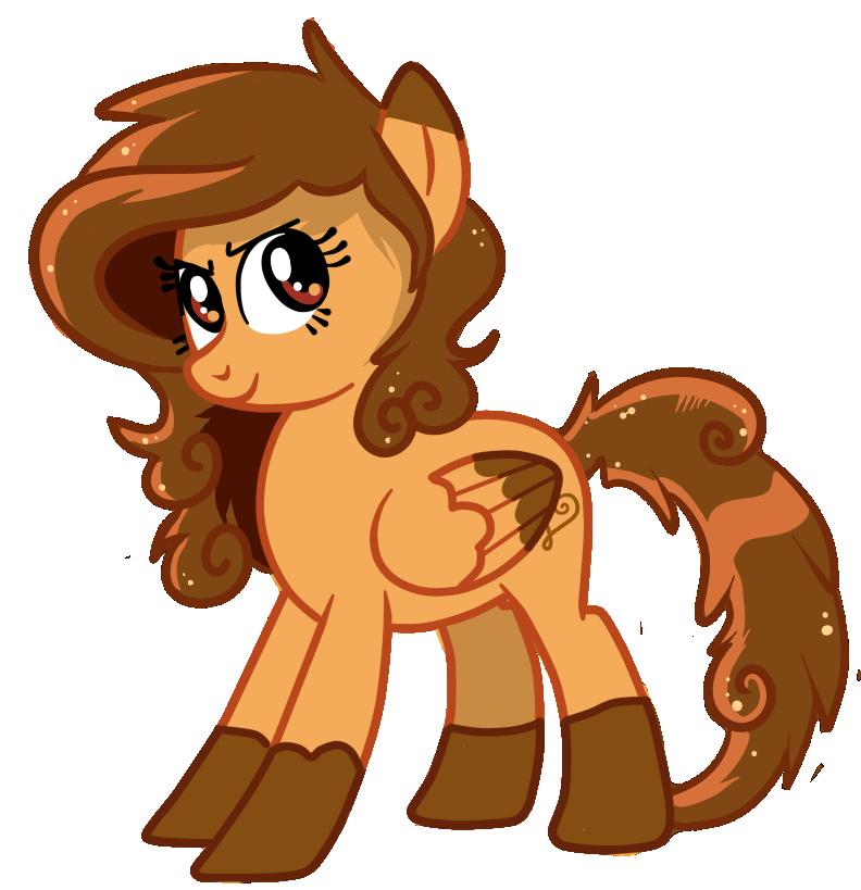 Caramel Swirl - Pony OC by pepooni